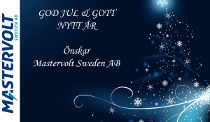 God Jul & Gott nytt år önskar MVS AB!