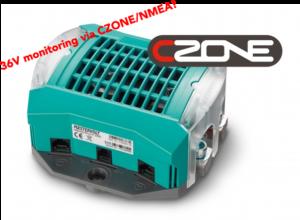 36V batteriövervakning via NMEA/CZone!