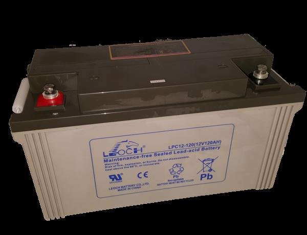 Leoch LPC batteri 12V 120Ah
