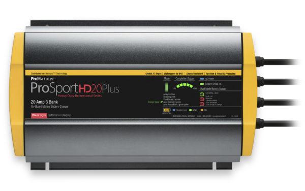 ProSport HD 20A 3-bank batteriladdare