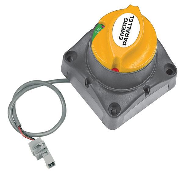 Motordriven huvudbrytare batteribrytare med laddningsrelä 701-MDVS