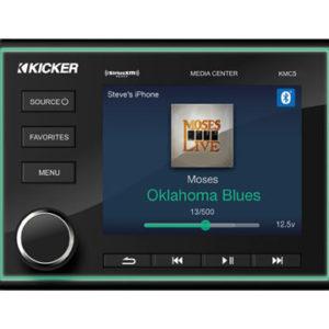Kicker KMC5 källenhet stereo NMEA