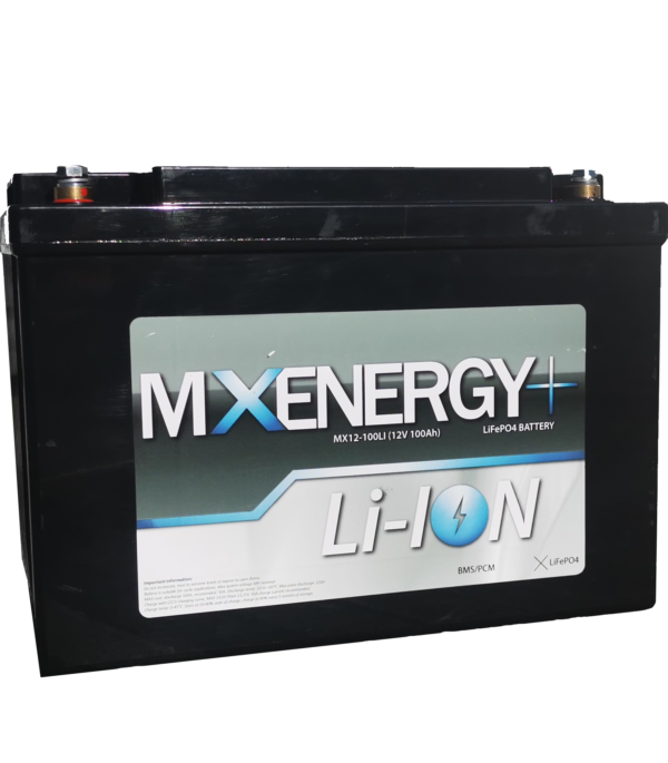 MX 12V 100Ah li-ion batteri