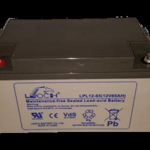LPL Long life batteri 12v 65Ah