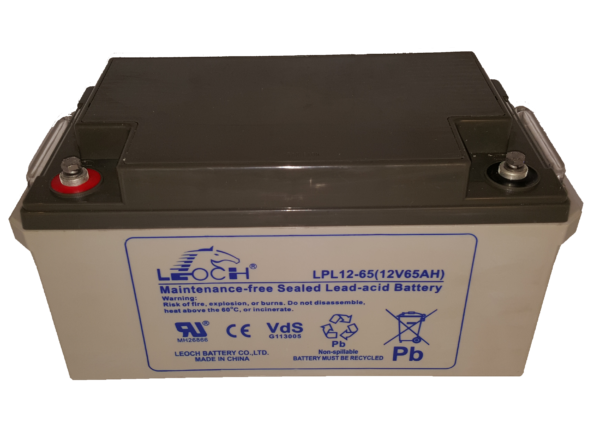 LPL Long life batteri 12v 65Ah