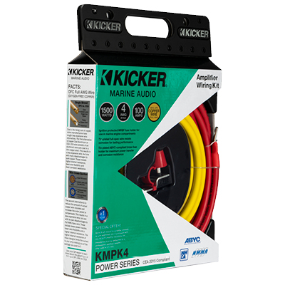Amp power kit 4AWG