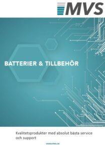 MVS batterier och tillbehör