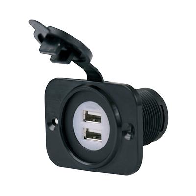 2x USB kontakt